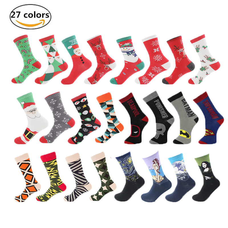 Underwear & Sleepwears High Quality Autumn Cotton Tube Male Mens Sock Street Style Hip Hop Socks Harajuku Fashion Designer Skateboard Sock To Enjoy High Reputation In The International Market