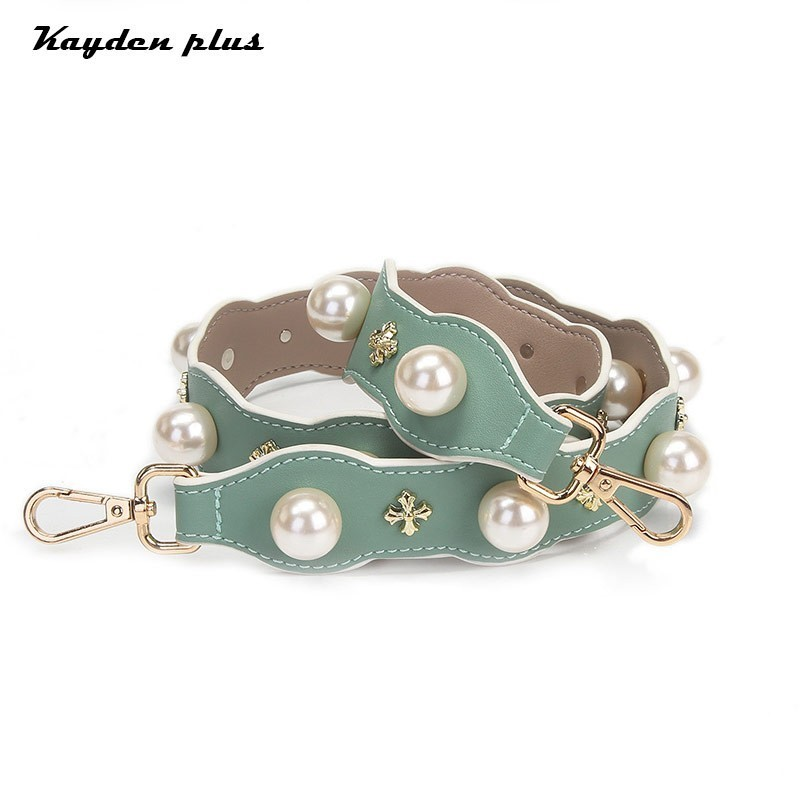 Bag Shoulder Strap Pearl Decoratio 2018 New Ladies Sweet Single Shoulder Strap Female Accessories Decorative Belt Package Parts