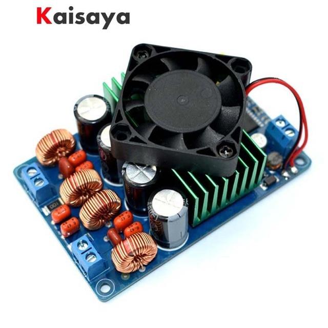 Amplificador Digital TC2001 STA516 clase T, placa estéreo 2x160W, amplificador HIFI con ventilador, mejor que TDA7498E TK2050 TDA8950 TPA3116 A3 002