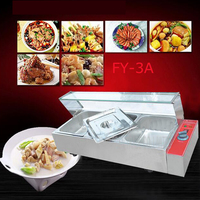 1PC FY 3A Electric food processor and even cooking stoves of Food preservation machine quipment with 3 pots