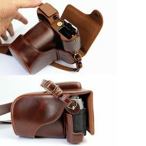 Image 4 - กระเป๋ากล้องหนังPUสำหรับFujifilm X T20 XT20 X T10 XT10 16 50Mm 18 55มม.เลนส์พร้อมสายคล้อง