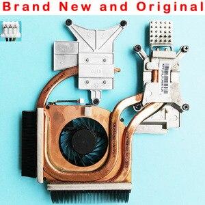 New original radiator heatsink with fan For HP DV6-2000 DV6-2100 cpu cooling fan Heatsink Cooler 579158-001 Kipo055417R1S(China)