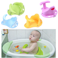 Baby Infant Kid Child Toddler Bath Seat Ring Non Slip Anti-slip Safety Security Chair Mat Pad Tub Bathtub ring 3 color