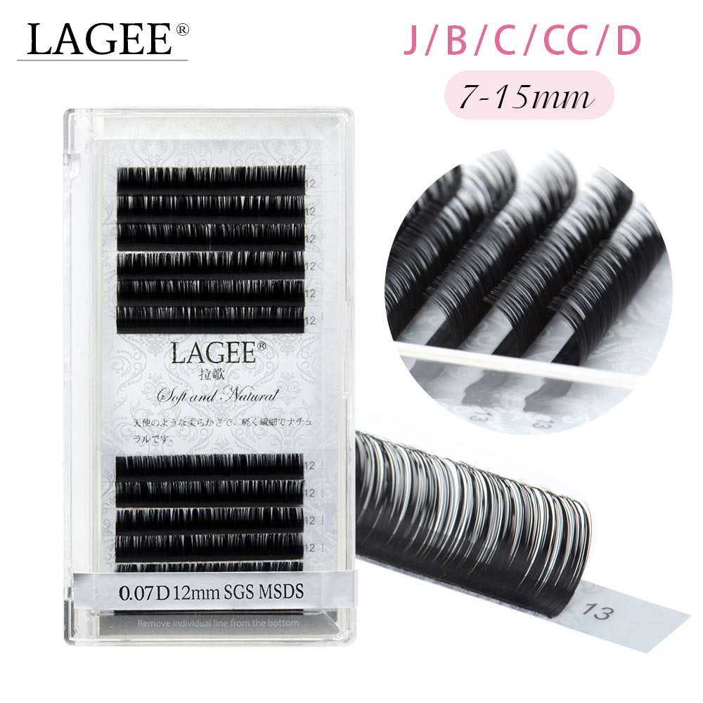 Soft 0.05mm Extension Lashes Black False Eyeflashes Artificial Eyelash Tools Black 13 D