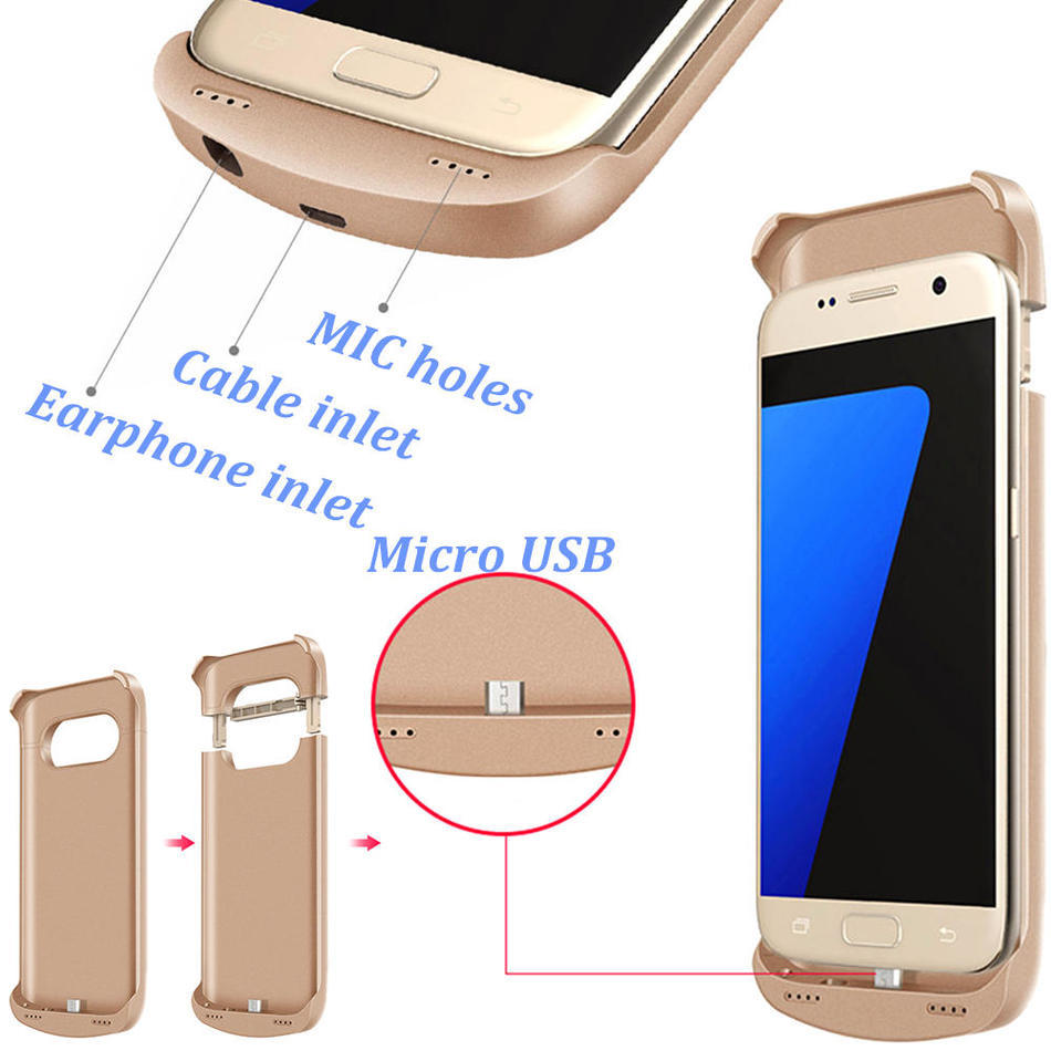 best top samsung galaxy s6 edge external charger case with