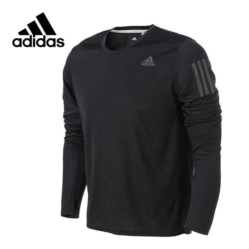 Adidas Original New Arrival Official RS LS TEE M Men's T-shirts Long sleeve Sportswear BP7482 original new arrival 2017 adidas neo label m sw tee men s t shirts short sleeve sportswear