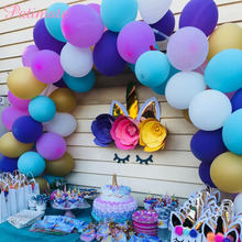 PATIMATE  Wedding Balloon Arch Kit 1st Birthday Decoration Ballons Party Decorations Kids Unicorn