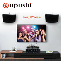 oupushi AV760N +KB10 +HU386 amplifier speaker and micphone use Home theater system Family singing system KTV system