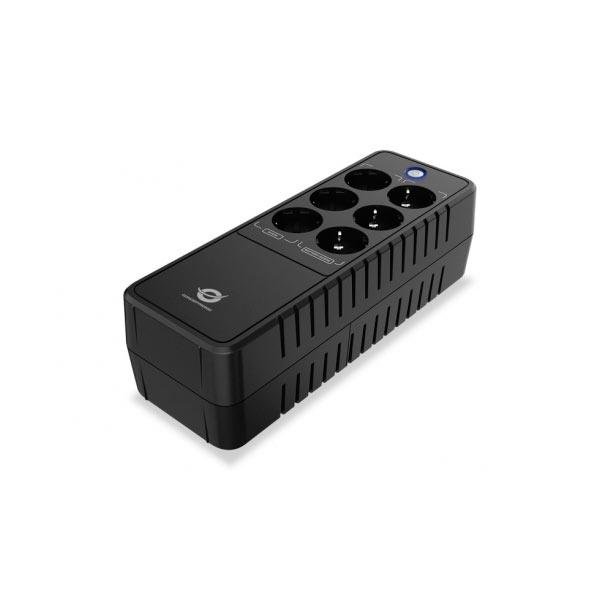 Sai 600va Conceptronic 360 W Office 6 Sockets Plug Proteccion Port LAN Modem
