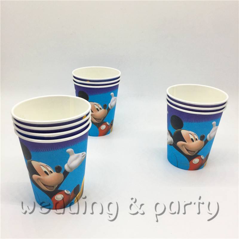 81Pcs set Mickey mouse children 39 s day supplies decoration cartoon moana theme baby shower children favor happy birthday party in Disposable Party Tableware from Home amp Garden