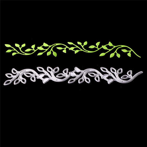 Lace Leaves Decor Metal Cutting Dies Stencil Scrapbooking Embossing Album Stamp Paper Card DIY Embossing Stencils