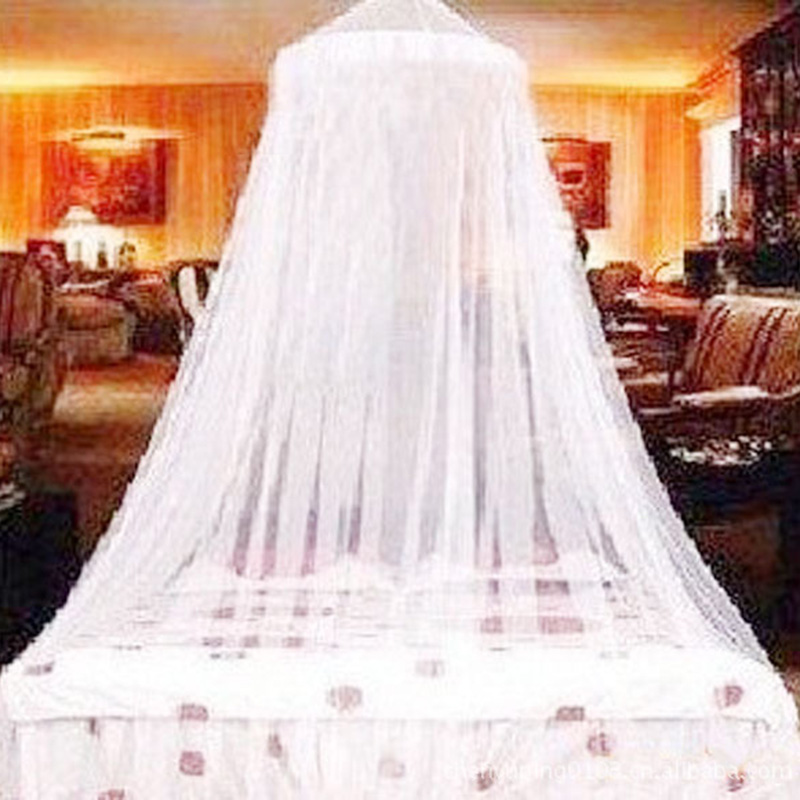 2020 Real Round Baby Bed Mosquito Net 60*250*900cm Dome Hanging Cotton Canopy Curtain For Hammock Kids Dossel 4 Kinds Of Color
