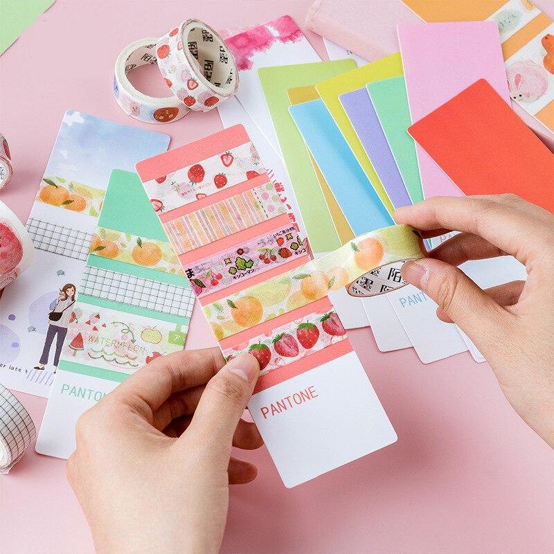 Mohamm Pragmatism Series Kawaii Cute Bookmarks Creative Stationery School Supplies Bookmark  Sub-package Board