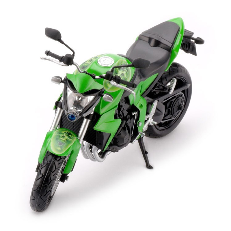1 12 Scale Model Motorcycles Toy HONDA CB1000R Alloy Diecast ABS Rubber Tire Motorbike Model Car