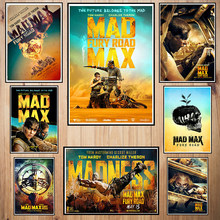 Mad max Fury road Coated paper poster Cafe Creative wallpaper Interior Decoration(China)