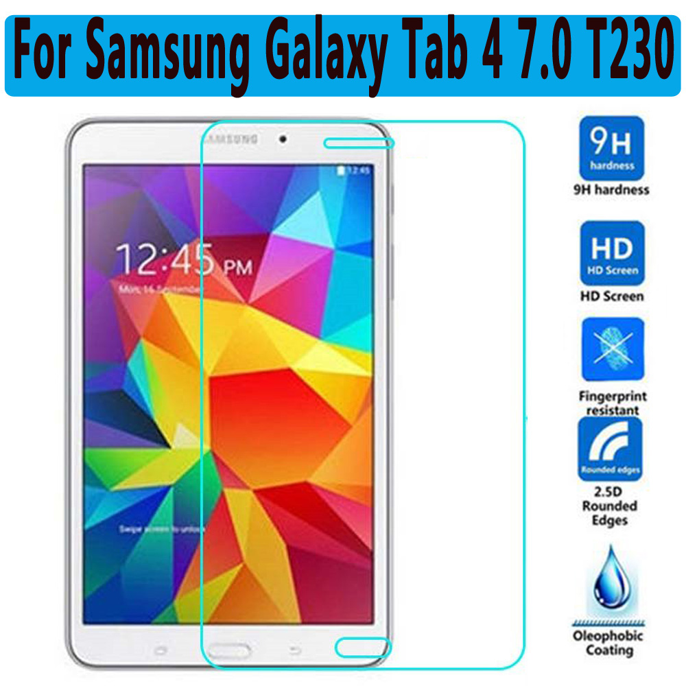 Prime 9 H En Verre Trempé Pour Samsung Galaxy Tab 4 7.0 T230 Protecteur d'écran pour Samsung Galaxy Tab 4 7.0 T230 Trempé Verre