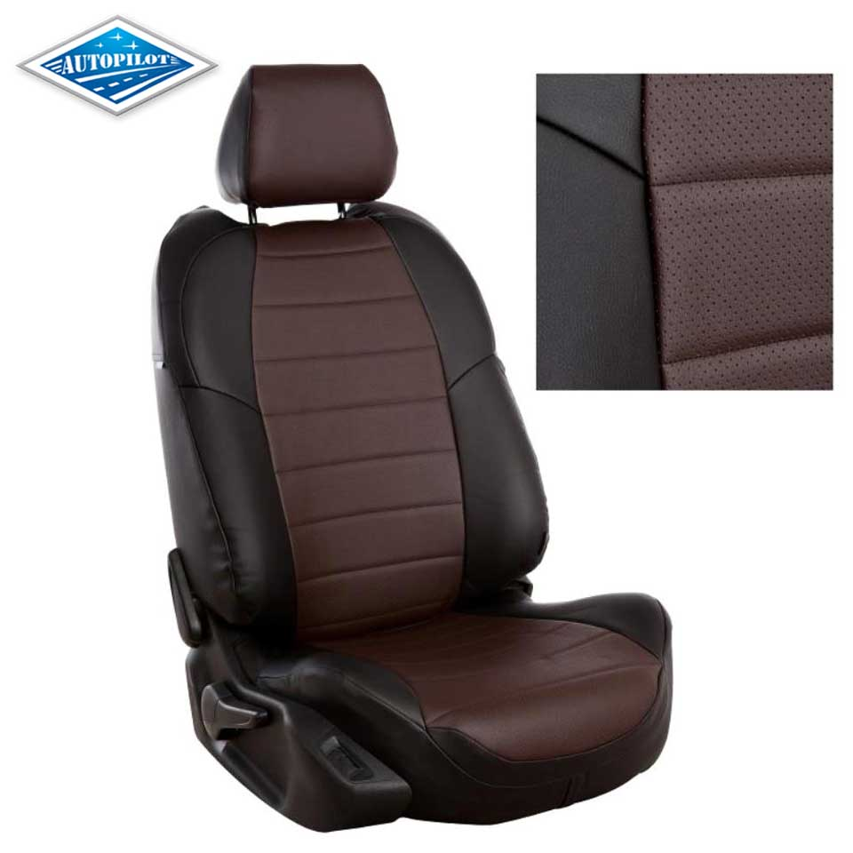 CAR SEAT COVERS full set fit Mitsubishi ASX leatherette Eco leather black