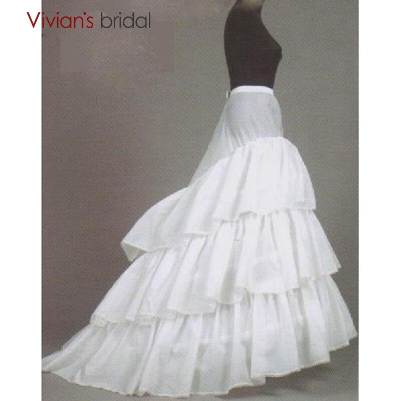 Günstige Hochzeit Petticoat Jupon Gericht Zug Krinoline Slip ...