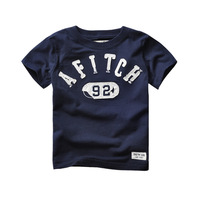 Summer Boys T Shirts Kids Tops Tees Baby Clothes Children Pullovers Short Sleeves Letter Shirts 2
