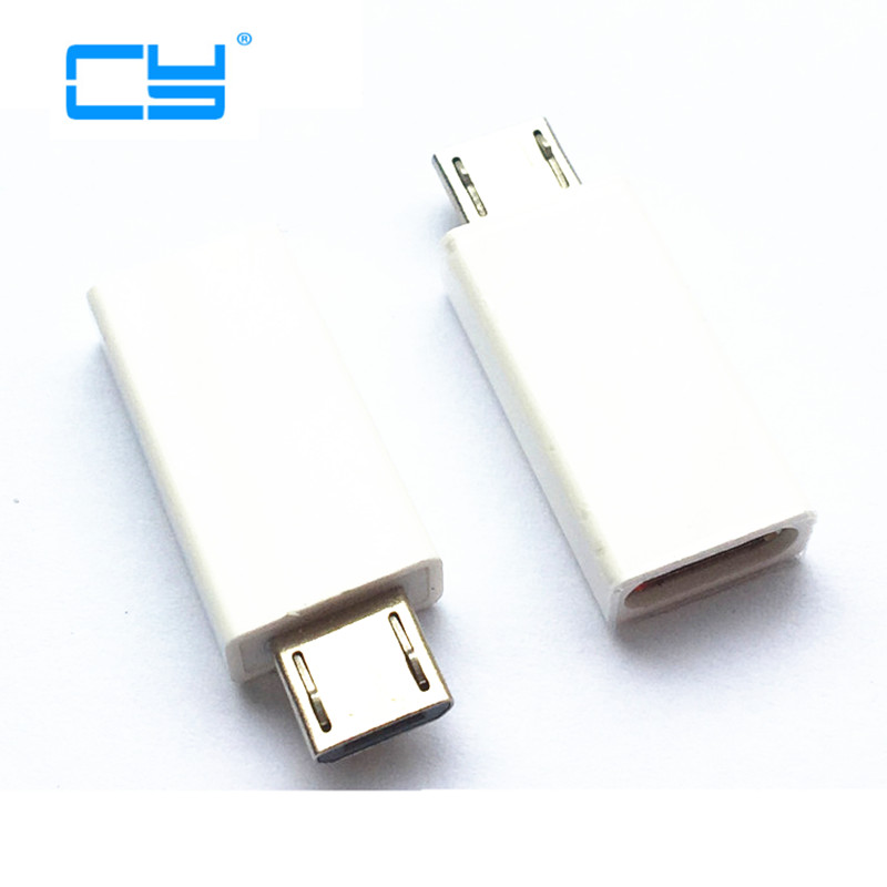 micro usb type-c female to micro usb male adapter usb type c female to microusb male to female charging charge phone type c to 8 pin otg type c adapter