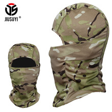 Multicam Cp Tacitcal Military Army Balaclava Airsoft Snowboard Bicycle Winter Warmer Camouflage Hats Helmet Liner Full Face Mask(China)