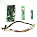 M. NT68676 LCD/LED Placa de Driver de Controlador Para B154EW02 CLAA154WA05 (HDMI + VGA + DVI + Audio)