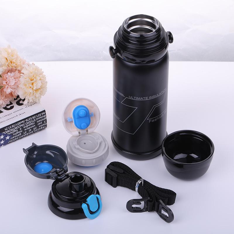800ML Portable Outdoor Sports Thermos Bottle Bicycle Water Bottle Cycling Climbing Hiking Drink Jug Cup Garrafa Agua Bolsa U0082 (4)