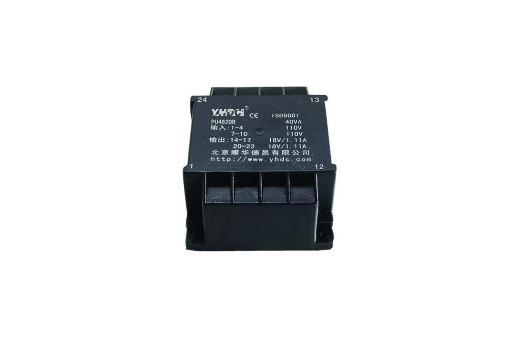 PU4820B мощность 40 ва вход 2*110 В Выход 2*15 в Инкапсулированный трансформатор PCB СВАРОЧНЫЙ плоский изоляционный трансформатор