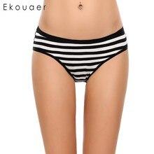 Ekouaer Band Stripe Underwear