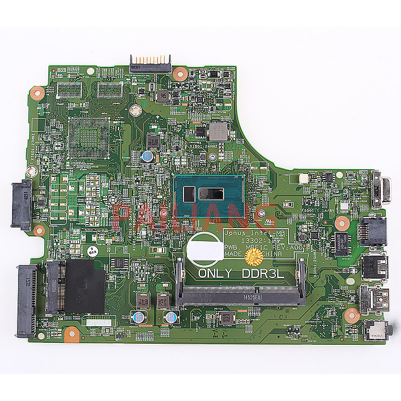 Laptop Motherboard For DELL Inspiron 15 3000 3546 3446 3449 3549 3205U PC Mainboard CN-0NXCCW 0NXCCW 13302-1 Full Tesed DDR3