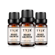 Natural Men beard growth oil 10ml Body hair growth Male moustache nourish moisturizing Eyebrow Care Serum Improve dry damage