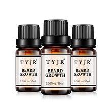 Natural Men beard growth oil 10ml Body hair growth Male mous
