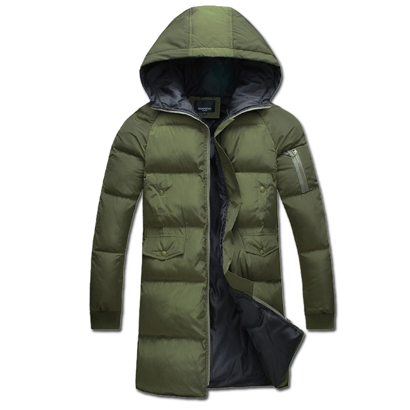 ФОТО 2016 S-5XL Winter Men Hooded Jackets Coats Jaqueta Masculina Men's Casual Fashion Slim Fit Large Size Cotton Padded Jackets Male