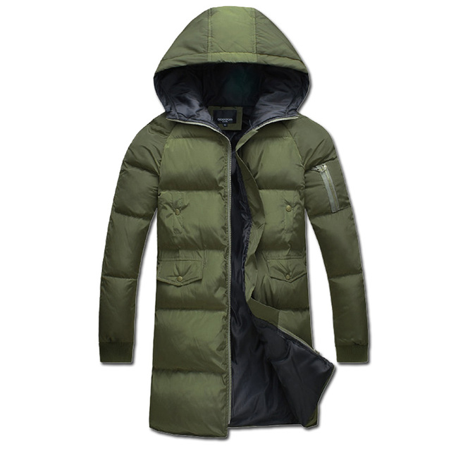 2016 S-5XL Winter Men Hooded Jackets Coats Jaqueta Masculina Men's Casual Fashion Slim Fit Large Size Cotton Padded Jackets Male