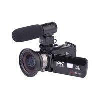 Многофункциональный портативный широкоугольный объектив ночного видения съемки Wifi DVR цифровая видеокамера USB внешний микрофон высокой чет