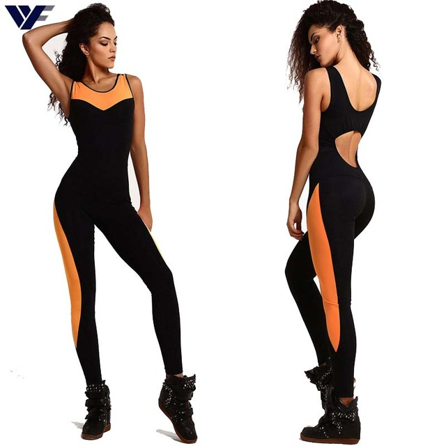 4351a9f0039 US $12.59 |Femme Overalls 2016 Runner Limit Exercise Jumpsuit & Rompers  Skinny Bodysuit Black Fashion Bandage Slim Elasticity Combinaison-in  Jumpsuits ...