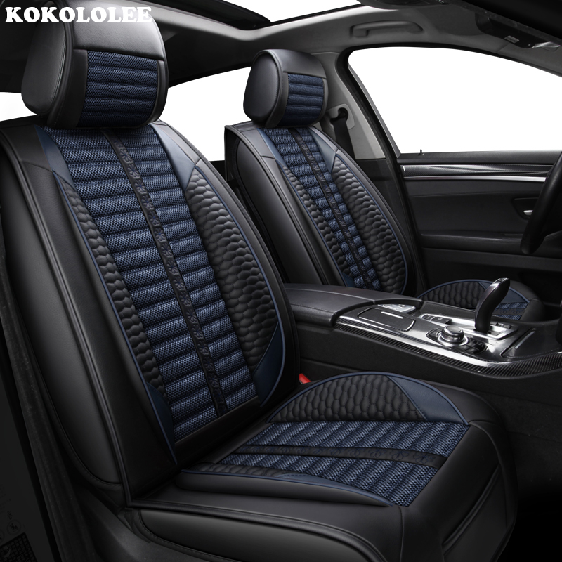 KOKOLOLEE Car seat covers for KIA K2K3K4K5 Kia Cerato Sportage Optima Maxima carnival auto accessories car-styling capacitive stylus pen new metal mesh micro fiber tip touch screen stylus pen for smart phone tablet pc for iphone ipad