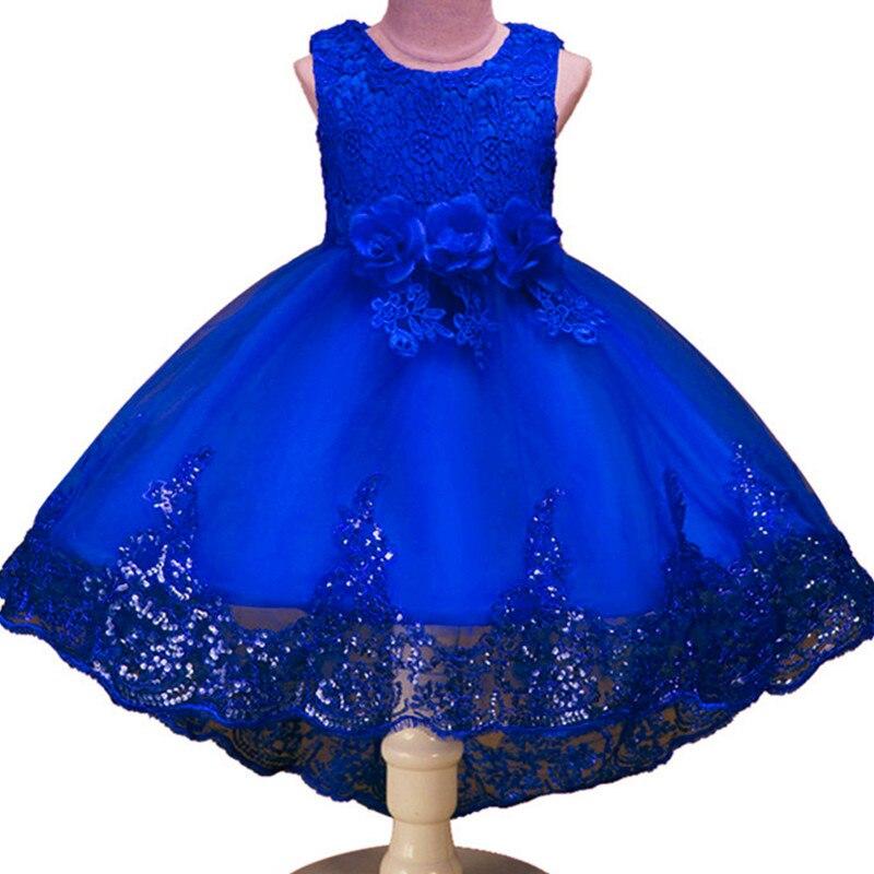 High-Quality-Girls-Sleeveless-Princess-Children-flower-girl-dress-For-Wedding-2-12-Years-Girls-Trailing-Party-Prom-Dresses-4