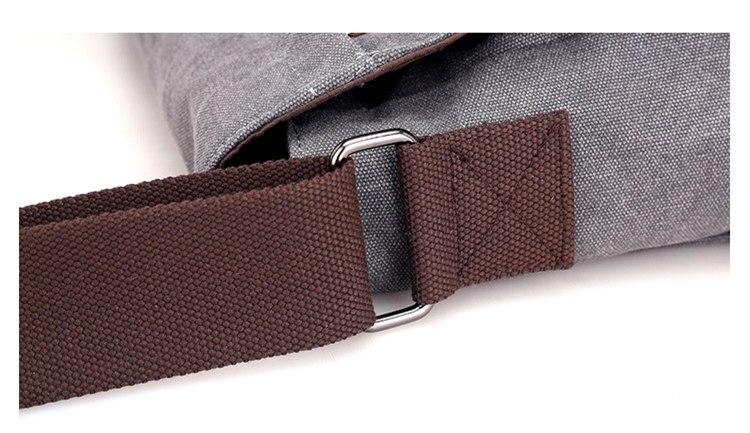 Micom Canvas Men Messenger Bags Vintage Shoulder Belt Bag Large Capacity Business Travel Bag Men\`s Canvas Crossbody Handbag New (25)