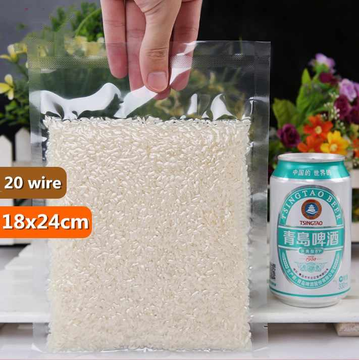 HARDIRON 15x21cm 20 Wire Vacuum Bags For Food Storage Sterilization Sack Food Vacuum Sack 130-Degree High-Temperature Food Pouch