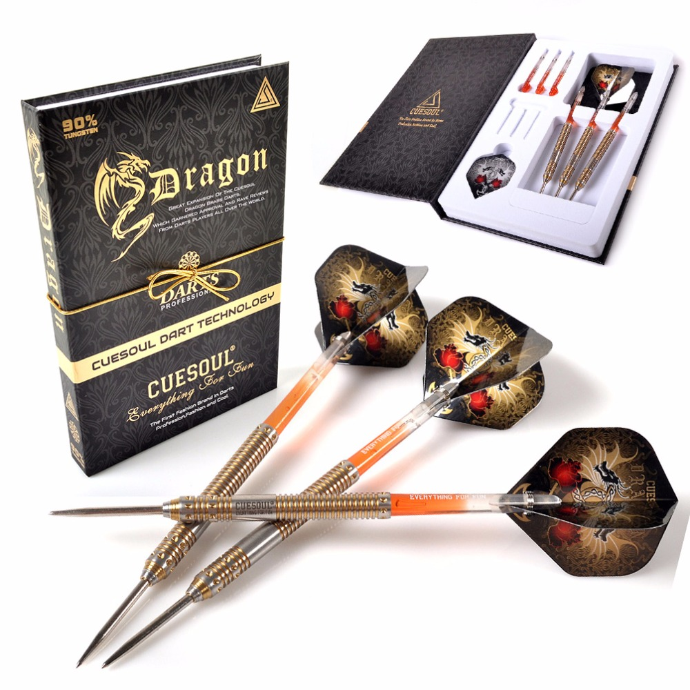 CUESOUL Christmas Gift Dragon 22g/24g/26g Tungsten Steel Tip Dart good photos 26g 20
