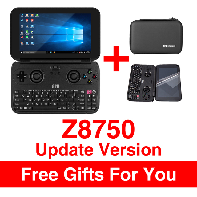 """GPD WIN Gamepad Laptop NoteBook Tablet PC 5.5"""" Handheld Game Console Video Game Player x7-Z8750 Windows Bluetooth 4.1 4GB/64GB"""