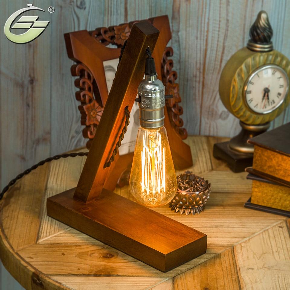 Online kaufen großhandel holz tischlampe aus china holz tischlampe ...