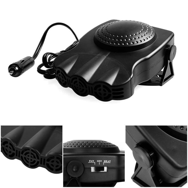 12v Heater Mini For Car Electric Fan Heated Windshield