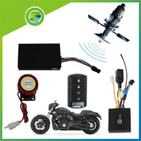 ENKLOV GPS Positioning Tracker Motorcycle Remote Anti theft Mobile Phone Or Remote Control GPS Tracking Waterproof