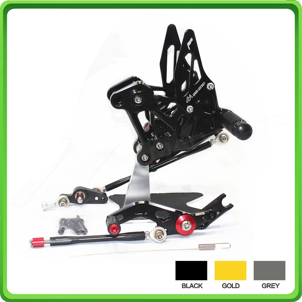 CNC Ajustable Conjuntos traseros establece el reposapiés pedales - Accesorios y repuestos para motocicletas