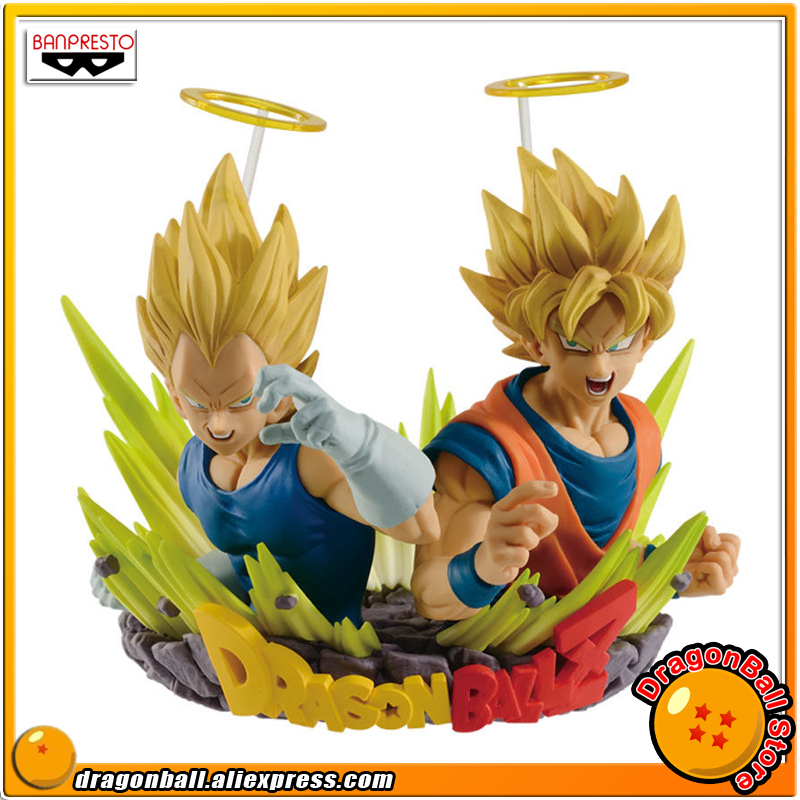 Original Banpresto Dragon Ball Z Com:Figuration GOGETA Vol.2 Collection Figure - Super Saiyan Son Goku & Vegeta dragon ball super original banpresto dxf the super warriors vol 4 collection figure super saiyan god super saiyan son goku