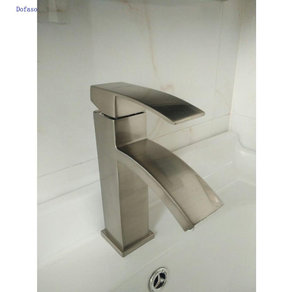 Dofaso china basin faucets single handle basin hot and - Bathroom sink faucets separate hot and cold ...