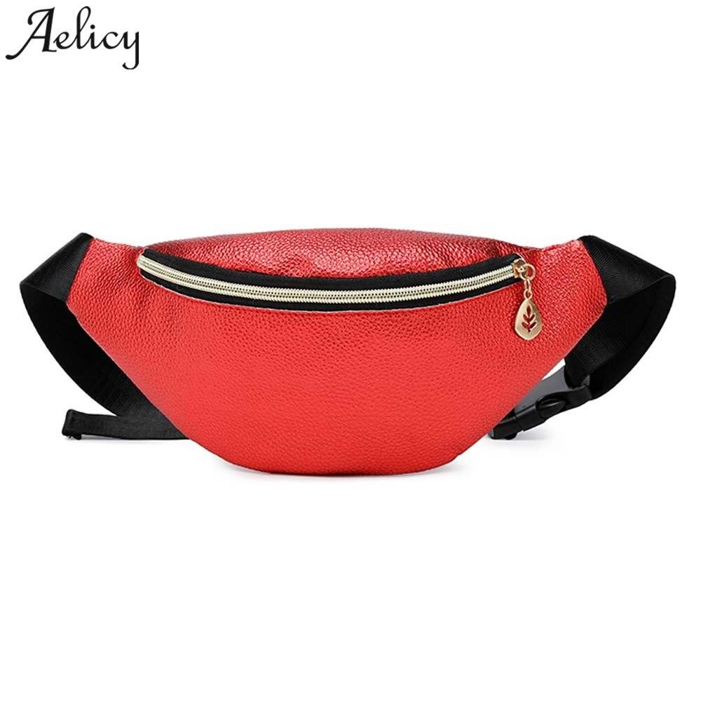 2019 Fashion Women Adjustable Shoulder Strap Simple Versatile Messenger Bag Print Pockets Gym Fitness Fanny Pack Belt Bag Fine Jewelry