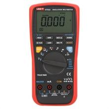 UNI-T UT533 True RMS Insulation Resistance Multimeter, 1000V Megohmmeter Resistance/Capacitance/Frequency/Temperature Test nflc victor digital multimeter 20a 1000v resistance capacitance inductance temp vc9805a